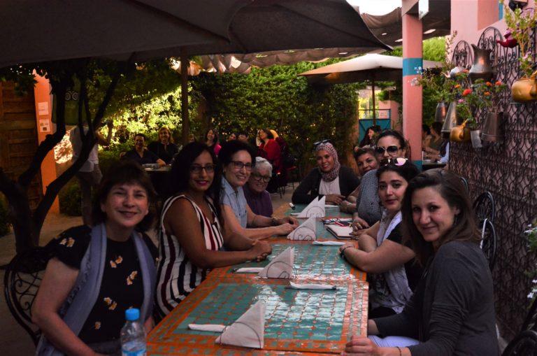 Opening Dinner Reception at Amal Women's Center