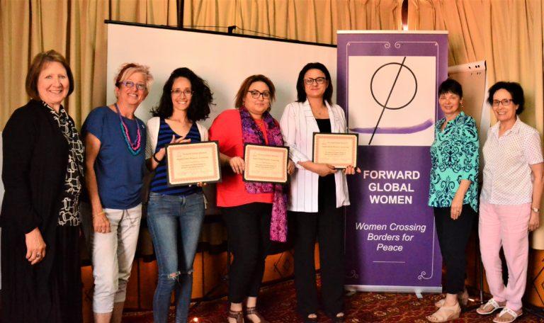 The Tunisian Team receives their certificates.